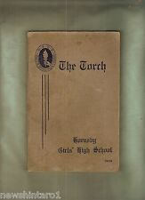 #D242. HORNSBY  HIGH SCHOOL  MAGAZINE, THE TORCH, 1938