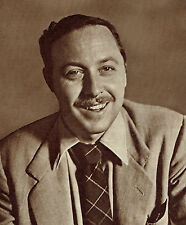 Tennessee Williams Bela Zola 1949 Photo Article 8860
