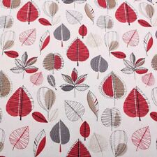 PRESTIGIOUS TEXTILES MAPLE RED BERRY CURTAIN CUSHION UPHOLSTERY FABRIC