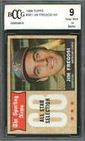 1968 topps #367 JIM FREGOSI AS los angeles angels BGS BCCG 9