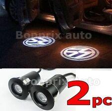 2 x VW Led Éclairage Porte Lampe Laser Logo Projecteur GOLF PASSAT BORA JETTA