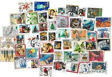 GB High Value Christmas Stamps Kiloware - Stamps on Paper - Approx 20 grams