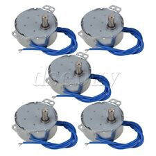 5Piece Turntable Synchronous Synchron Motor 50/60Hz AC110-127V 4W 5-6 RPM