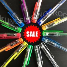 14 X GEL PENS Fluorescent & Glitter COLOURING BRIGHT VIVID COLOURS  ART