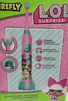 LOL SURPRISE KIDS ROTARY TOOTHBRUSH WITH CHARGING BASE GIFT SET