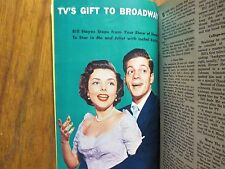 Sept 11-1953 TV Guide(BILL  HAYES/THIS IS YOUR LIFE/VANESSA BROWN/MARLIN PERKINS