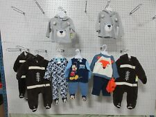 10 BOYS INFANT BABY SMALL WONDERS CLOTHES ONE PIECE 6-9 MONTHS CLOTHING OUTFIT