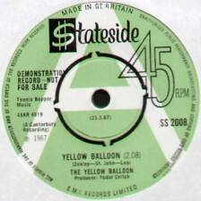 "YELLOW BALLOON ~ YELLOW BALLOON / NOOLLAB WOLLEY ~ 1967 UK ""DEMO"" 7"" SINGLE"