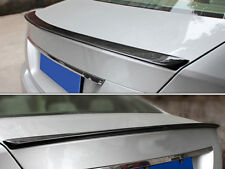C CLASS MERCEDES  W204 SALOON AMG STYLE REAR TRUNK BOOT SPOILER 08-14 Carbon fib