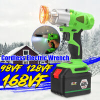1/2'' 240V Cordless Impact Wrench Compact Driver Lithium-ion 98VF/128VF/168VF *