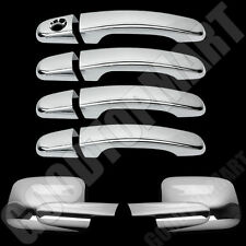 FOR PONTIAC TORRENT 06-09 CHROME 4 DOORS HANDLES COVERS W//OUT PASSENGER KEYHOLE