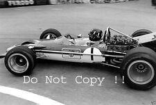 Graham Hill Gold Leaf Team Lotus 49B Winner Monaco Grand Prix 1969 Photograph 4