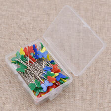 Patchwork Sewing 100Pcs/Set Multicolor Butterfly Shaped Pins Needle DIY Tools