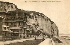 Carte DIEPPE La Villa des Algues et les Falaises