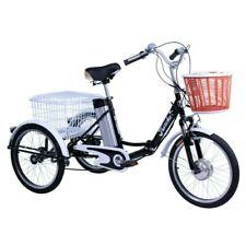 Triciclo eléctrico para adultos con cestas