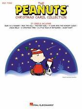 PEANUTS CHRISTMAS CAROL COLLECTION - EASY PIANO SONGBOOK 316060