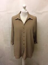 Try Clothing Blouse,Size 20,Colour Tortilla