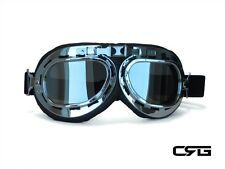 New CRG Vintage Bike Aviator Pilot Style Motorcycle Cruiser Scooter Goggles T01