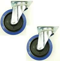 2 Rollen SL 160 mm Blue Wheel Lenkrollen Transportrollen Schwerlastrollen Wheels