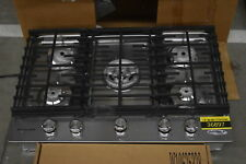 "KitchenAid Kcgs550Ess 30"" Stainless 5-Burner Gas Cooktop Nob #36897 Hrt"