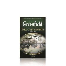 Greenfield Earl Gray Fantasy tea black with bergamot 100 g * 2 pcs