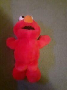 "Sesame Street Tickle Me Elmo Talking Interactive Large 18"" Soft Plush Toy"