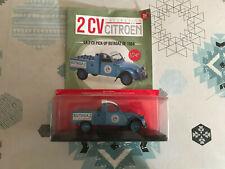 Voiture Miniature Citroen 2cv Pick UP 2 cv Butagaz Hachette Modèle Culte 1/24