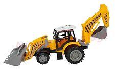 Tractopelle de chantier 42 cm pour enfant, jouet, jeux pas cher neuf