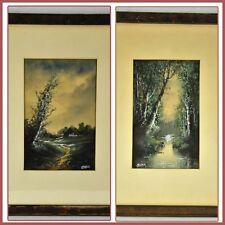 "Pauline Colyar (1873 - 1928) Pair of watercolors   8"" x 5"". frames(BI#МК/180419)"