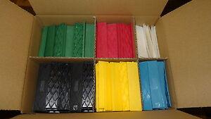 Set 600 St Kunststoffklötze, Verglasungsklötze, Unterleger 100x24x1-6 mm