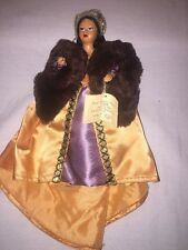 """VTG Miniature Costume Doll By Peggy Nisbet """"Catherine Parr"""""""