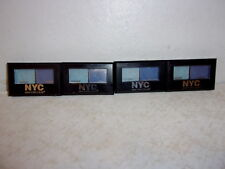 Group of (4) NYC City Duet Eye Shadow - 813B Yankee Blues - Sealed