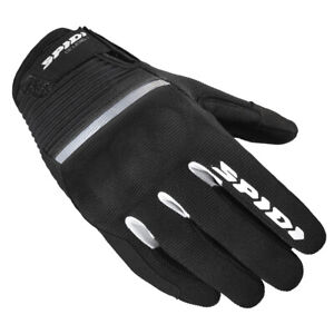 Spidi Flash CE Lady Ladies Motorcycle Gloves Blk Wht