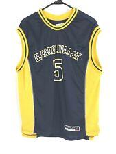 Jordan brand north Carolina At&T #5 mens large sleeveless jersey