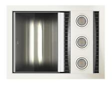 NEW IXL Tastic Neo Single Bathroom Heater Fan Light, White Fascia, Hardwired