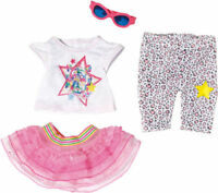 Zapf Creation 822241 BABY born® Deluxe Glamour-Outfit Puppenkleidung NEU OVP