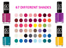 Rimmel 60 Seconds Super Shine Nail Polish 8ml Ultra Shiny & Long Lasting Effect