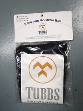 "Tubbs Snoeshoes~Stow and Go~Mesh Bag~Storage~NEW~Small 8""x25""~FREE Shipping"