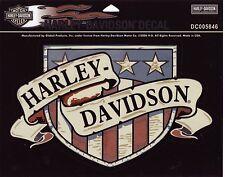 Harley Davidson pegatina/sticker modelo HD sign 25,5 cm x 16,0 cm para exterior