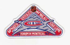 NHL 1993 ALL STAR GAME JERSEY PATCH MONTREAL CANADIENS