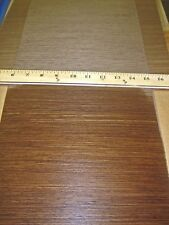 """Wenge composite wood veneer 49"""" x 9"""" with paper backer 1/40th"""" thickness"""
