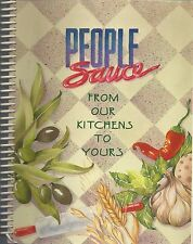PLEASANTON CA 1996 PEOPLE SAUCE COOK BOOK FROM OUR KITCHENS TO YOURS *CALIFORNIA