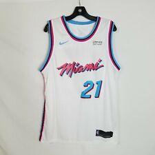 Nike Mens Hassan Whiteside Miami Vice City Edition Swingman Jersey Sz 50 Large