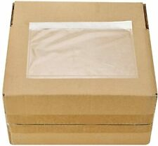 Clear Self-Adhesive Pouches for Shipping Labels (100 Count)