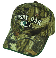 Mossy Oak Brand Hunting Logo Camouflage Adjustable Buckle Outdoors Camo Hat Cap
