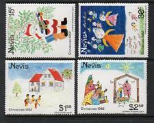 NEVIS MNH 1982 SG94-97 CHRISTMAS SET OF 4