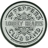 BEATLES sgt pepper drum circular 2016 WOVEN SEW ON PATCH official merchandise
