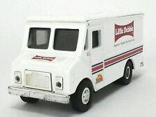 Little Debbie Metal COIN BANK Truck Van - Grumman Olson Route Star Missing Lid