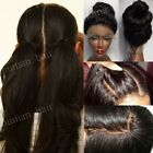 100% Indian Human Hair Lace Front Wigs Glueless 360 Full Lace Wig Pre Plucked gl