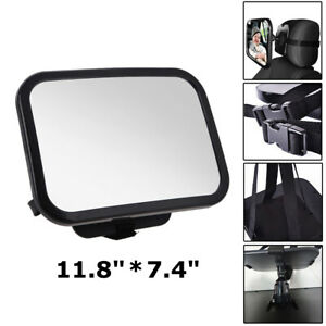 Wide Baby Back Seat Shatterproof Mirror Car View Infant in Rear Facing Car Seat